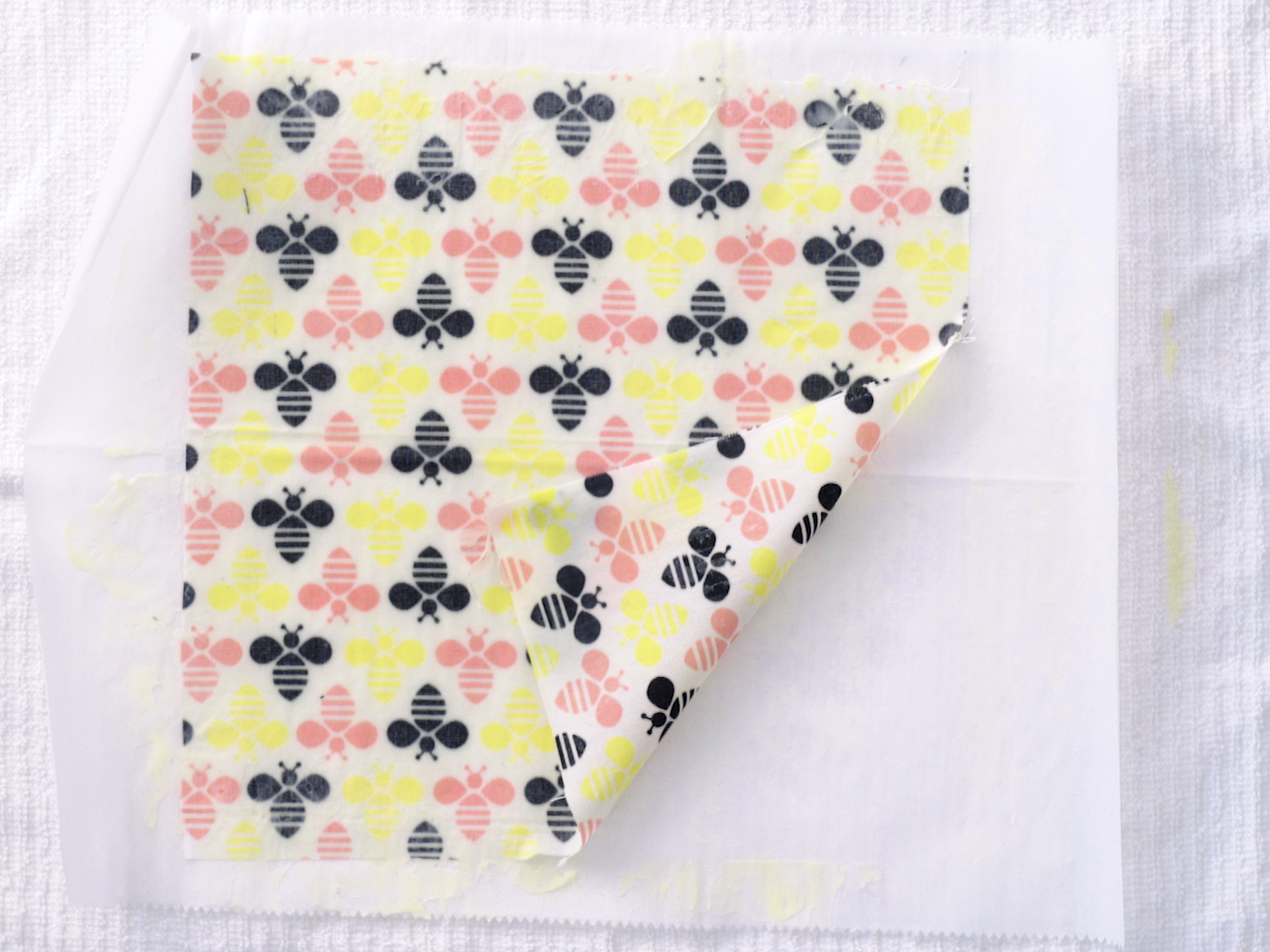 DIY Beeswax Wraps Finished