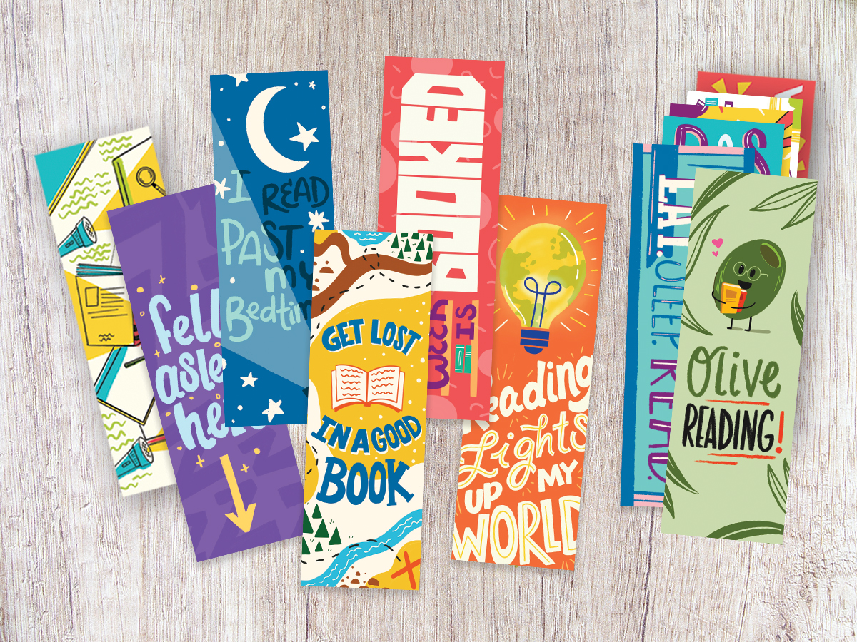 Celebrate Your Love of Reading with These Free Printable Bookmarks
