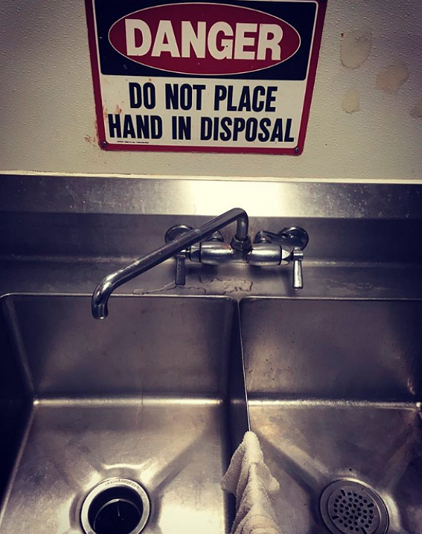 Funny Signs Disposal