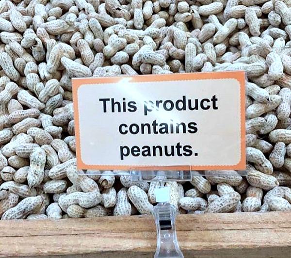 Funny Signs Peanuts