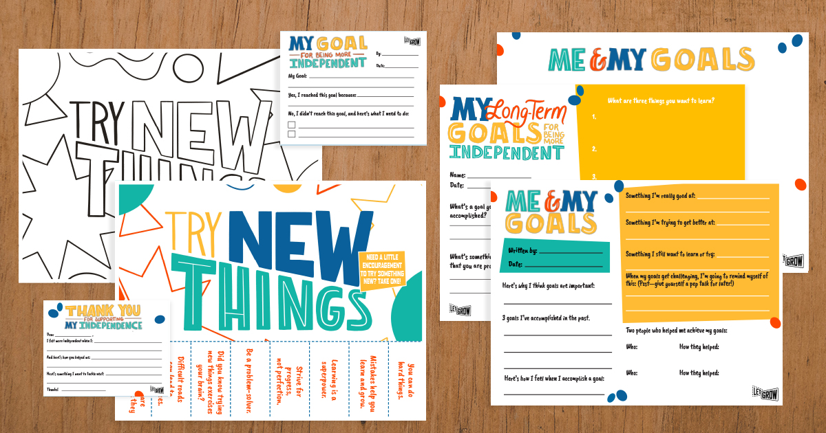Goal Setting for Students Kit from Let Grow